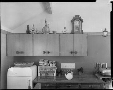 Image: Wilson house interior, kitchen, 77 Burma Road, Khandallah, Wellington
