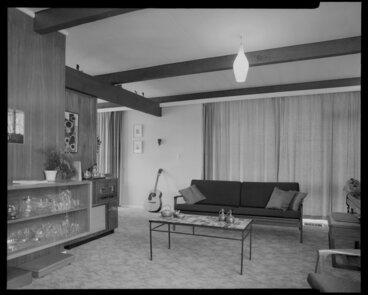 Image: Living room of Utting house [Wellington?]