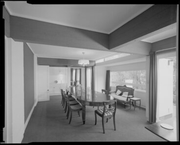 Image: Dining room interior, Todd house