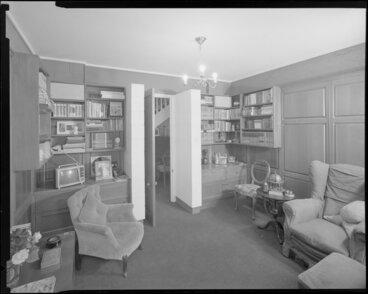 Image: Den interior, Todd house
