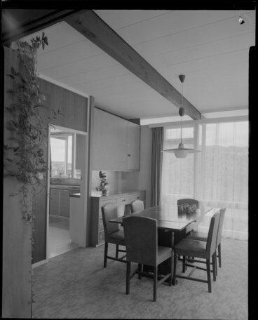 Image: Dining room of Utting house [Wellington?]