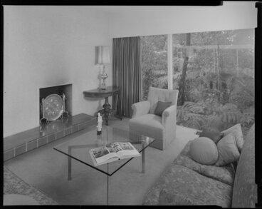 Image: Living room of the Littlejohn house