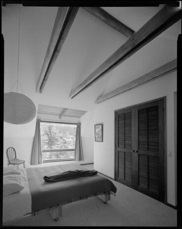Image: Bedroom interior, Jon Craig house, Wellington