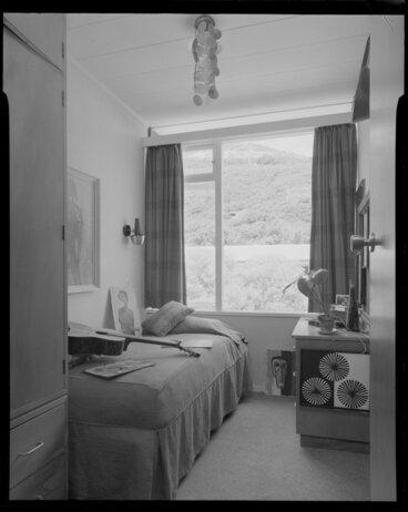 Image: Bedroom of Utting house [Wellington?]