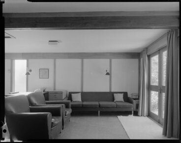 Image: Living room interior, Richardson house