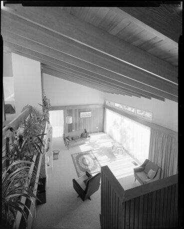 Image: Living room interior, Fechney house