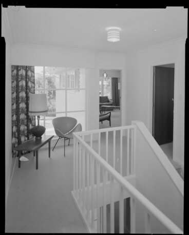 Image: House interior, staircase and landing