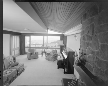 Image: Living room, house of Mrs Law