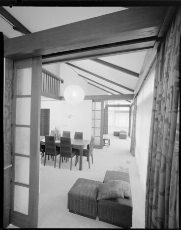 Image: Dining room of Wong house
