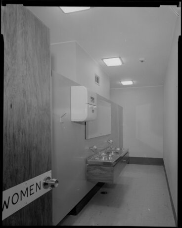 Image: Women's toilets, Meteorological Office, Kelburn, Wellington