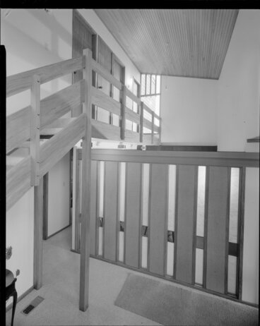 Image: Staircase, house of Mrs Law