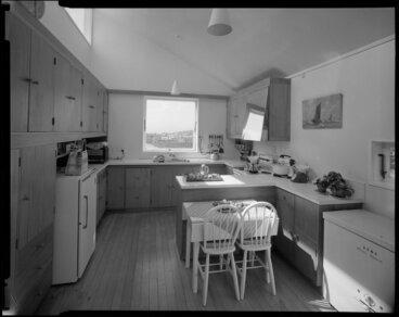 Image: Kitchen interior, Brosnahan house, Wellington