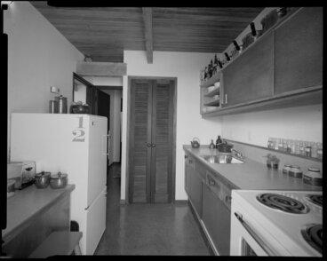 Image: Kitchen interior, Jon Craig house, Wellington