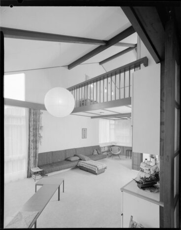 Image: Living room of Wong house