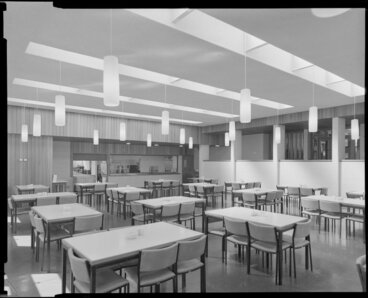 Image: Dining room, Weir House, Victoria University of Wellington