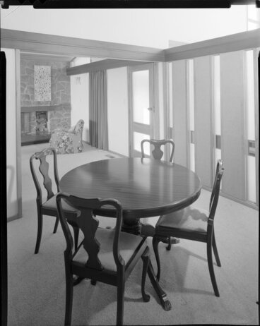 Image: Dining room, house of Mrs Law