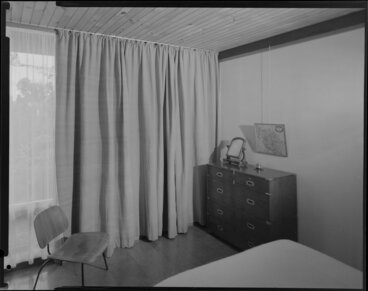 Image: Bedroom of Alington house, 60 Homewood Crescent, Karori, Wellington