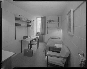 Image: Student's room, Weir House, Victoria University, Kelburn, Wellington