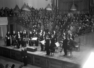 Image: The Boyd Neel Orchestra at the Wellington Town Hall