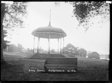 Image: Bandstand at Ngaruawahia