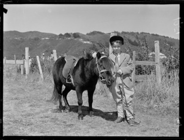 Image: Agricultural and pastoral show at Maidstone Park, Upper Hutt