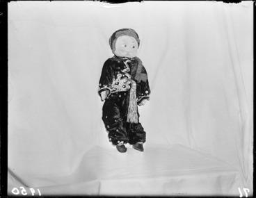 Image: One of Sylvia Kellaway's dolls