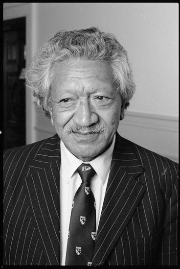 Image: John Rangianiwaniwa Rangihau, delegate to Maori Summit Conference