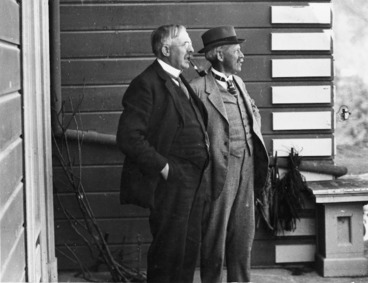 Image: Ernest Rutherford and Thomas Hill Easterfield