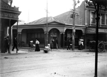 Image: Intersection of Herbert and Manners Streets, Wellington