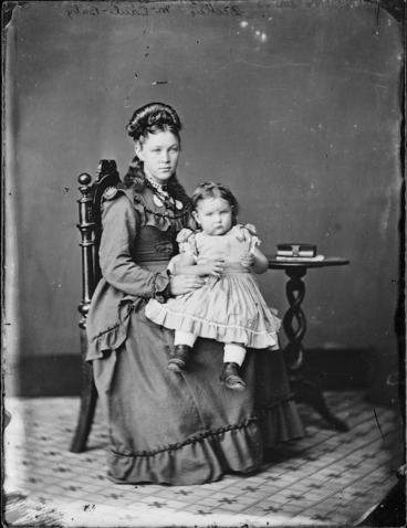 Image: Marion McCaul and her daughter