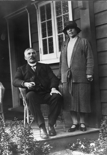 Image: Ernest Rutherford and Mary Georgina Rutherford