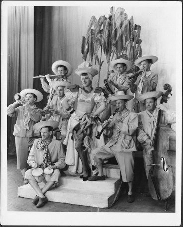 "Image: ""Mexican"" musical group."