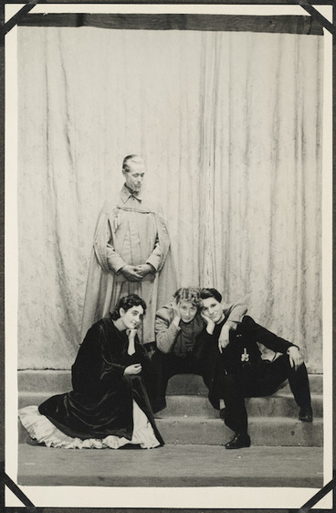 Image: Four producers of Hamlet