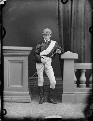 Image: Young jockey