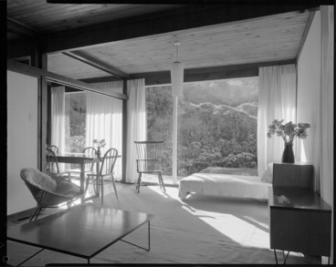 Image: Interior of Beard House, Wellington