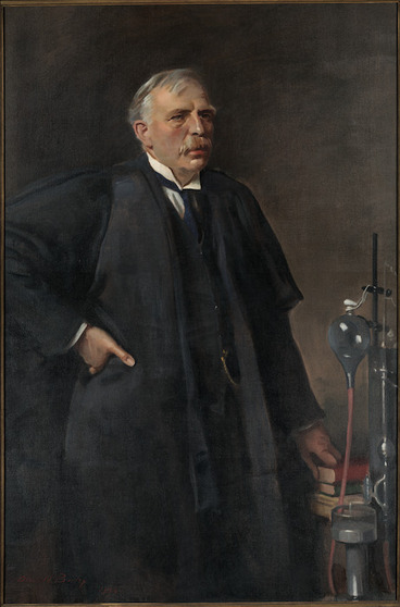 Image: Birley, Oswald Hornby Joseph, 1880-1952 :[Lord Rutherford of Nelson] 1934