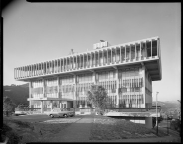 Image: Meteorological Office, Kelburn, Wellington