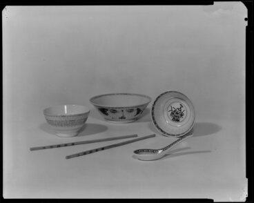 Image: Chinese china dishes