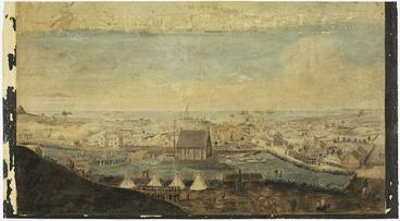 Image: [Harris, Edwin] ca 1810-1895 :New Plymouth, New Zealand [1860]