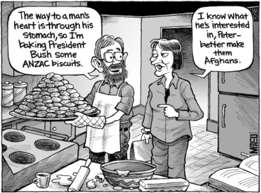 Image: ANZAC biscuits