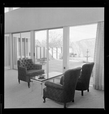 Image: Living room interior, Day house, Wellington