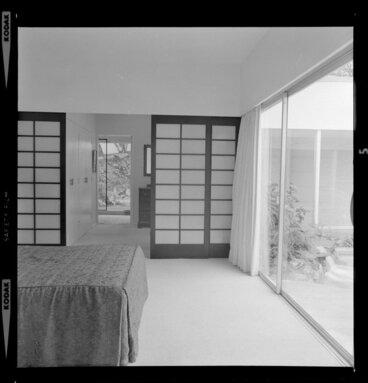 Image: Bedroom interior, Littlejohn house, Wellington
