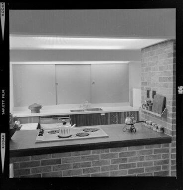 Image: Kitchen interior, Littlejohn house, Wellington