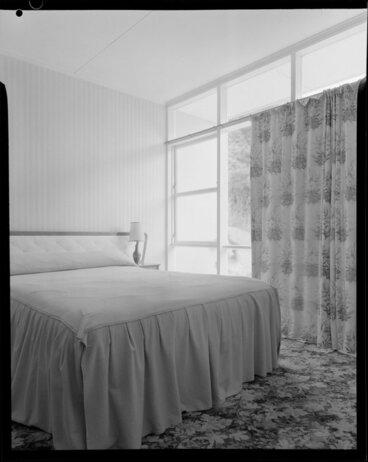 Image: Bedroom, Shuker house, Titahi Bay, Wellington