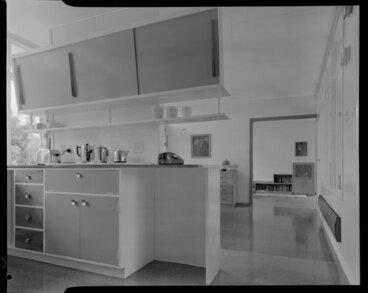 Image: Kitchen, Shuker house, Titahi Bay, Wellington