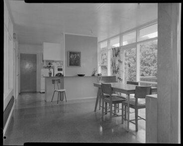 Image: Dining room, Shuker house, Titahi Bay, Wellington