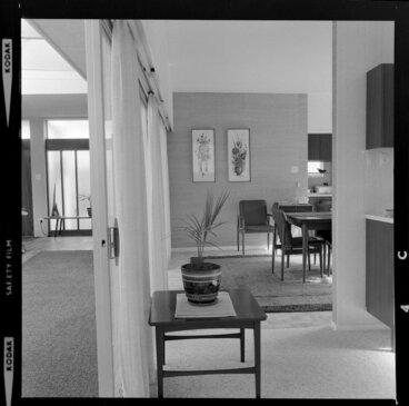 Image: Tuston house, part view of dining room