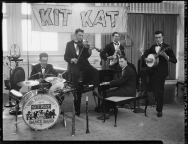 Image: Ted Marchant and his Kit Kat Dance Band