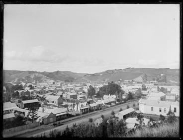 Image: Whanganui township
