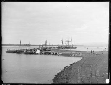 Image: Onehunga Wharf, Auckland